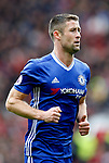 Gary Cahill of Chelsea during the English Premier League match at Old Trafford Stadium, Manchester. Picture date: April 16th 2017. Pic credit should read: Simon Bellis/Sportimage