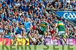 Con O'Callaghan, Dublin in action against Tom O'Sullivan, Kerry during the GAA Football All-Ireland Senior Championship Final match between Kerry and Dublin at Croke Park in Dublin on Sunday.