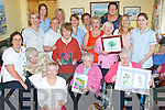 PRIZES: Patients of Ocean View who were presented with their prizes on Thursday for their arts in the South West Aricultural Show recently, the residents with their carers, Margaret O'Donnell (proprieter), Paddy Fitzgerald, Mary Foley, Bridget Duff, Kitty McGivigan, Janet Granau (staff Nurse), Trish Ashe (carer), Michele Downey (cook), Justyna Kilmos (domestic), Patricia Quirke (carer), Peggy O'Connor, Catherine O'Brien (cook), kay O'Shea (carer)-& entertainment personel), Mary Hussey, Joan O'Connor, jackie Burgess (person in charge) and Cathy O'Donoghue (carer),