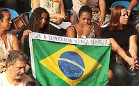 RIO DE JANEIRO, RJ, 10 SETEMBRO 2013 - GREVE PROFESSORES MUNICIPIO RJ - Os professores do município do Rio Janeiro esta reunida em assembleia no clube Municipal na Tijuca com cerca de 3.000 professores para decidir pela continuação ou não da greve, nessa terça 10. (FOTO: LEVY RIBEIRO / BRAZIL PHOTO PRESS)