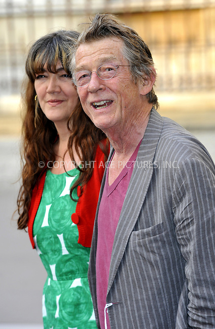 WWW.ACEPIXS.COM . . . . .  ..... . . . . US SALES ONLY . . . . .....June 2 2011, London....John Hurt at the Royal Academy Summer Exhibition 2011 VIP private view at the Royal Academy of Arts in London - 02 June 2011....Please byline: FAMOUS-ACE PICTURES... . . . .  ....Ace Pictures, Inc:  ..Tel: (212) 243-8787..e-mail: info@acepixs.com..web: http://www.acepixs.com