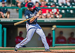 11 March 2016: Atlanta Braves infielder Barrett Kleinknecht in action during a Spring Training pre-season game against the Philadelphia Phillies at Champion Stadium in the ESPN Wide World of Sports Complex in Kissimmee, Florida. The Phillies defeated the Braves 9-2 in Grapefruit League play. Mandatory Credit: Ed Wolfstein Photo *** RAW (NEF) Image File Available ***