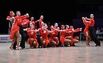 """07.12.2019,  GER; Tanzen, WDSF Weltmeisterschaft der Lateinformationen, Zwischenrunde, im Bild Duet Perm (RUS) mit dem Thema """"One Heartbeat"""" Foto © nordphoto / Witke"""