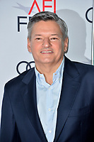 "LOS ANGELES, USA. November 17, 2019: Ted Sarandos at the gala screening for ""The Two Popes"" as part of the AFI Fest 2019 at the TCL Chinese Theatre.<br /> Picture: Paul Smith/Featureflash"