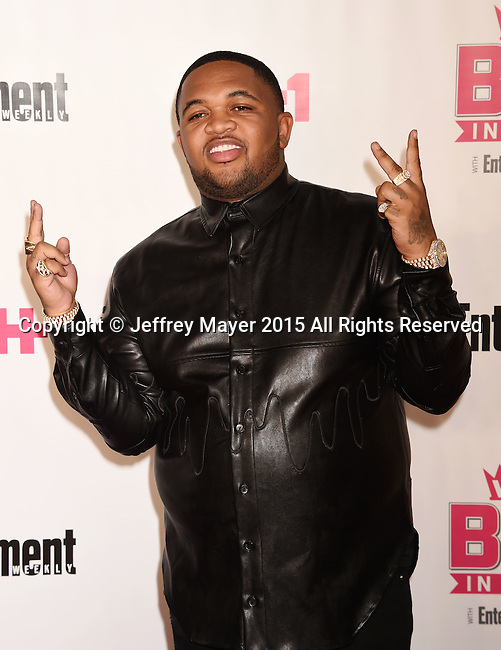 WEST HOLLYWOOD, CA - NOVEMBER 15: Record producer DJ Mustard  attends VH1 Big In 2015 With Entertainment Weekly Awards at Pacific Design Center on November 15, 2015 in West Hollywood, California.