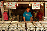 Israel, Carmel. Wadi Nisnas market in Haifa