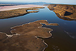 Kenya, Rift Valley, Lake Magadi, an important habitat for lesser flamingos