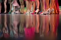 Berlin,Transvestit Models stehen am Freitag (10.05.13) in Berlin während eines Drag-Queen Castings im Friedrichstadt-Palast auf der Bühne: Timur Emek/CommonLens