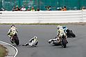 2010/07/18 - MotoGP - Round08 - Sachsenring - Mika Kallio (Pramac Ducati) Randy de Puniet (Playboy Honda) Aleix Espargaro (Pramac Racing) - Crash -