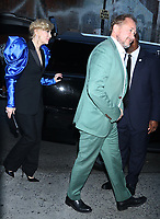 August  12, 2019.Cate Blanchrtt, Andrew Upton, attend UA screening of Where'd You  Go Bernadette at the Metrograph in New York. August 12, 2019 <br /> CAP/MPI/RW<br /> ©RW/MPI/Capital Pictures
