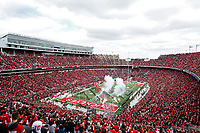 The Ohio State Buckeyes run onto the field before the game against Minnesota Golden Gophers in Ohio Stadium in Columbus, Ohio on October 13, 2018. [Samantha Madar/Dispatch]