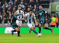 West Bromwich Albion's Wes Hoolahan (left) vies for possession with Brighton & Hove Albion's Beram Kayal (right) <br /> <br /> Photographer David Horton/CameraSport<br /> <br /> Emirates FA Cup Fourth Round - Brighton and Hove Albion v West Bromwich Albion - Saturday 26th January 2019 - The Amex Stadium - Brighton<br />  <br /> World Copyright © 2019 CameraSport. All rights reserved. 43 Linden Ave. Countesthorpe. Leicester. England. LE8 5PG - Tel: +44 (0) 116 277 4147 - admin@camerasport.com - www.camerasport.com