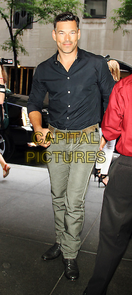 July 16, 2014:  Eddie Cibrian at  New York Live to talk about new reality series on VH1 LeAnn &amp; Eddie in New York.<br /> CAP/MPI/RW<br /> &copy;RW/ MediaPunch/Capital Pictures