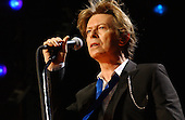 David Bowie performing live on the Heathen Tour of the USA at Jones Beach Theater Wantagh NY USA - Aug 02, 2002 - Photo: IconicPix Music Archive.