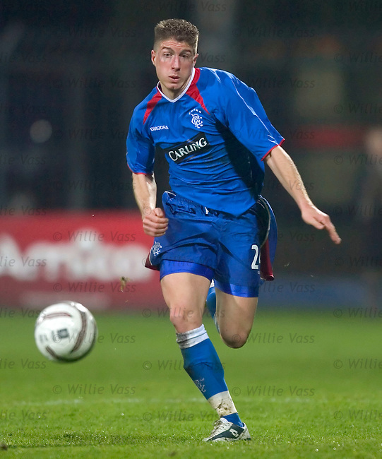 Gregory Vignal, Rangers.stock season 2004-2005.pic willie vass