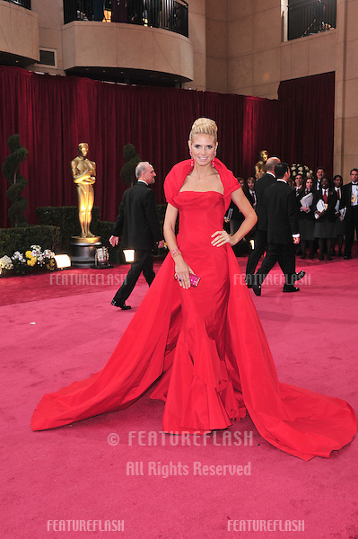 Heidi Klum at the 80th Annual Academy Awards at the Kodak Theatre, Hollywood, CA..February 24, 2008 Los Angeles, CA.Picture: Paul Smith / Featureflash