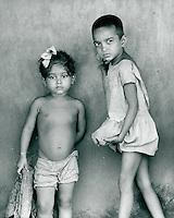 Kinder, Indien 1974