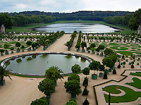The Queen's Gardens at Versailles, France