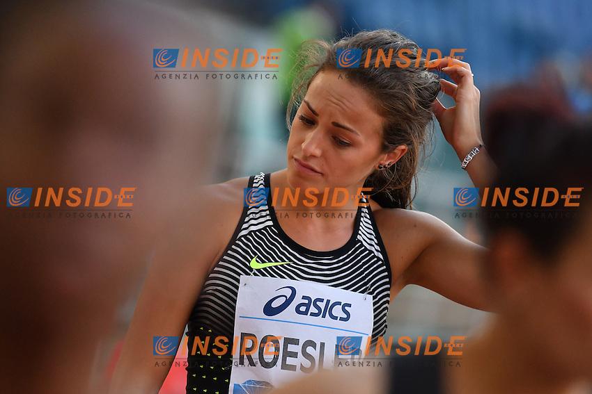 Laura ROESLER USA 800m women B Race <br /> Roma 02-06-2016 Stadio Olimpico <br /> IAAF Diamond League Golden Gala <br /> Atletica Leggera<br /> Foto Andrea Staccioli / Insidefoto