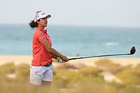 Christine Wolf (AUT) during the first round of the Fatima Bint Mubarak Ladies Open played at Saadiyat Beach Golf Club, Abu Dhabi, UAE. 10/01/2019<br /> Picture: Golffile | Phil Inglis<br /> <br /> All photo usage must carry mandatory copyright credit (© Golffile | Phil Inglis)