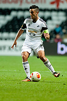 Thursday 24 October 2013  <br /> Pictured: Neil Taylor <br /> Re:UEFA Europa League, Swansea City FC vs Kuban Krasnodar,  at the Liberty Staduim Swansea