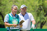 Zander Lombard (RSA) on the 18th tee during the first round at the Nedbank Golf Challenge hosted by Gary Player,  Gary Player country Club, Sun City, Rustenburg, South Africa. 14/11/2019 <br /> Picture: Golffile | Tyrone Winfield<br /> <br /> <br /> All photo usage must carry mandatory copyright credit (© Golffile | Tyrone Winfield)