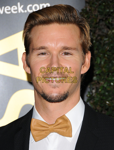 RYAN KWANTEN .at G'Day USA LA Black Tie Gala held at The Hollywood Palladium in Hollywood, California, USA, January 22nd, 2011..portrait headshot goatee facial hair beard black suit tie bow tuxedo gold smiling .CAP/RKE/DVS.©DVS/RockinExposures/Capital Pictures.