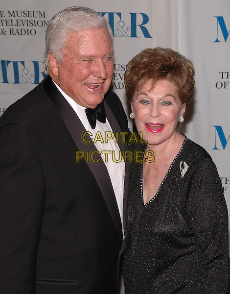 MERV GRIFFIN & ROBERTA PETERS.arrive at The Museum of Television and Radio's Annual Gala where he is being honored for his award winning career in radio and television..New York, New York, USA, 26 May 2005..portrait headshot.Ref: ADM.www.capitalpictures.com.sales@capitalpictures.com.©Patti Ouderkirk/AdMedia/Capital Pictures.