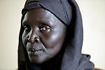 A woman in Abyei, a town at the center of the contested Abyei region along the border between Sudan and South Sudan.