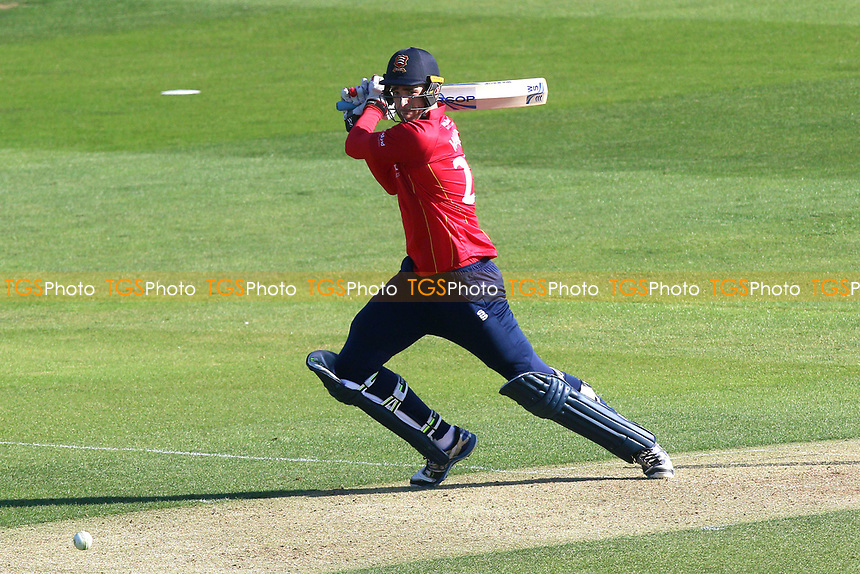 Paul Walter in batting action for Essex during Essex Eagles vs Sussex Sharks, Royal London One-Day Cup Cricket at The Cloudfm County Ground on 10th May 2017