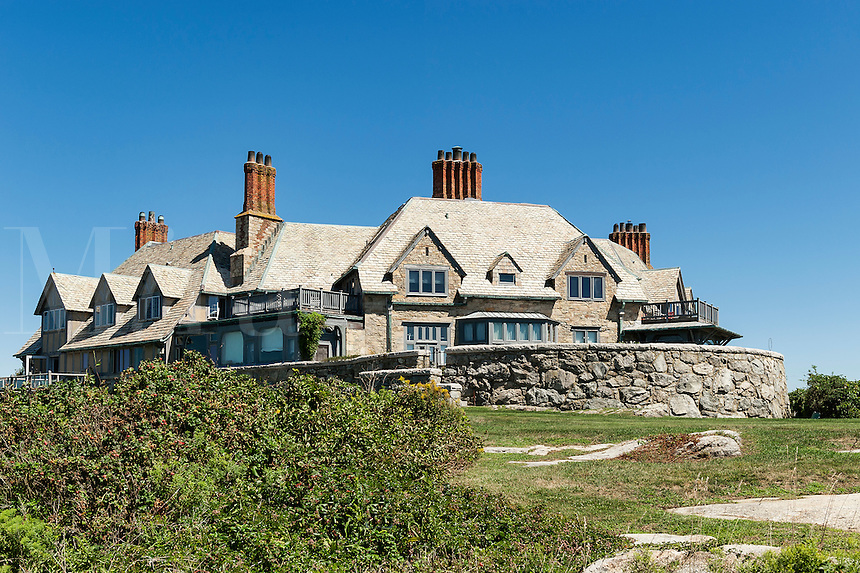 Cliff Walk mansion, Newport, RI, Rhode Island, USA