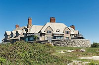 Cliff Walk mansion, Newport, RI, Rhode Island, USA