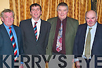 Evening: Having fun at the Kilmoyley GAA Social in Ballygarry House, Tralee, on Friday evening were Pat Griffin, Killarney, Joe Walsh, Lerrig, Joe Walsh, Kilmoyley, and Michael OLeary, Killarney..