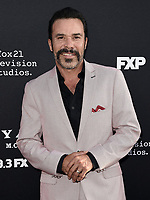 """LOS ANGELES - AUGUST 27: Michael Irby attends the season two red carpet premiere of FX's """"Mayans M.C"""" at the ArcLight Dome on August 27, 2019 in Los Angeles, California. (Photo by Scott Kirkland/FX/PictureGroup)"""