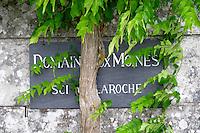 Domaine Chateau de la Roche aux Moines, Savennieres, Anjou, Loire, France