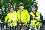 Enjoying the Fenit Lifeboat charity fun cycle on Saturday were Lorna Browne, Donal Browne, Billy Revington