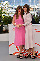 CANNES, FRANCE. May 15, 2019: Elizabeth Bosse &amp; Monia Chokri  at the photocall for &quot;A Brother's Love&quot; at the 72nd Festival de Cannes.<br /> Picture: Paul Smith / Featureflash
