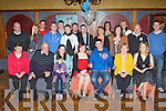 Seamus Casey, Ballybane, Firies seated centre who celebrated his 21st birthday with his family and friends in the Old Killarney Inn, Aghadoe on Saturday night..