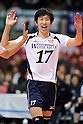 Akio Nagae (Weisse Adler), MARCH 6, 2011 - Volleyball : 2010/11 Men's V.Premier League match between Oita Miyoshi Weisse Adler 1-3 Toray Arrows at Tokyo Metropolitan Gymnasium in Tokyo, Japan. (Photo by AZUL/AFLO)