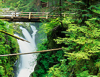 Sol Duc Falls. Olympic National Park, Washington.
