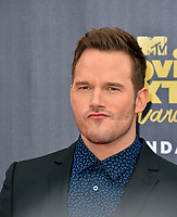 Chris Pratt at the 2018 MTV Movie &amp; TV Awards at the Barker Hanger, Santa Monica, USA 16 June 2018<br /> Picture: Paul Smith/Featureflash/SilverHub 0208 004 5359 sales@silverhubmedia.com
