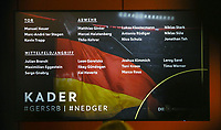 Kader der Nationalmannschaft für die kommenden Länderspiele - 15.03.2019: Pressekonferenz der Deutschen Nationalmannschaft, DFB Zentrale Frankfurt