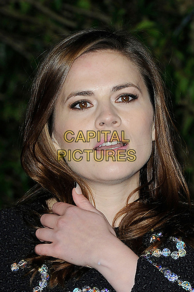 LONDON, ENGLAND - MARCH 19: Hayley Atwell attending the 'Cinderella' UK Premiere at Odeon Cinema, Leicester Square on March 19, 2015 in London, England<br /> CAP/MAR<br /> &copy; Martin Harris/Capital Pictures