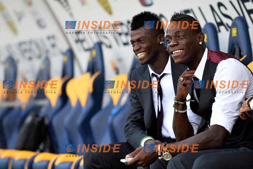 M'Baye Niang, Mario Balotelli Milan <br /> Verona 24/8/2013 Stadio Bentegodi <br /> Football Calcio Serie A<br /> Verona - Milan <br /> Foto Andrea Staccioli Insidefoto