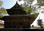Kondo Golden Hall, Gojunoto 5-story Pagoda, Toji East Temple, Kyoto, Japan