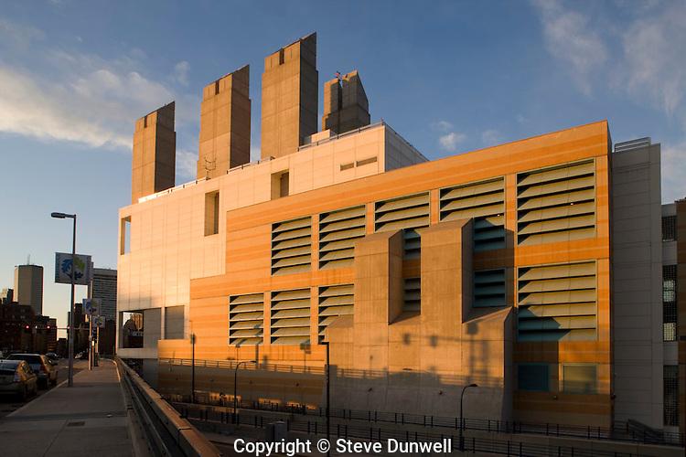 Tunnel vent building, South Boston  seaport district, Boston, MA (Hubert Murray = architect)