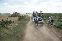 Kevin Verwaest  (BEL/Superano Ham - Isorex) drafting his way back to the front<br /> <br /> 91st Schaal Sels 2016