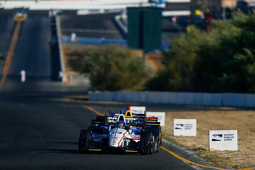 Verizon IndyCar Series<br /> GoPro Grand Prix of Sonoma<br /> Sonoma Raceway, Sonoma, CA USA<br /> Sunday 17 September 2017<br /> Ed Jones, Dale Coyne Racing Honda<br /> World Copyright: Jake Galstad<br /> LAT Images