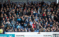 Fans during the FA Cup 1st round match between Portsmouth and Wycombe Wanderers at Fratton Park, Portsmouth, England on the 5th November 2016. Photo by Liam McAvoy.