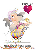 Fabrizio, Comics, CUTE ANIMALS, LUSTIGE TIERE, ANIMALITOS DIVERTIDOS, comic, paintings+++++,ITFZ41,#ac#, EVERYDAY,baby,elephant